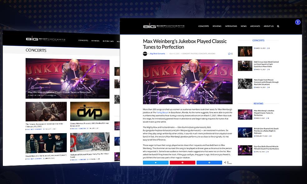 Big Shot Concerts and ummhumm | creative studio